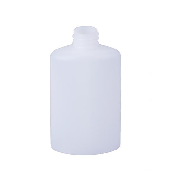 White Plastic PE Squeeze Lotion Bottle