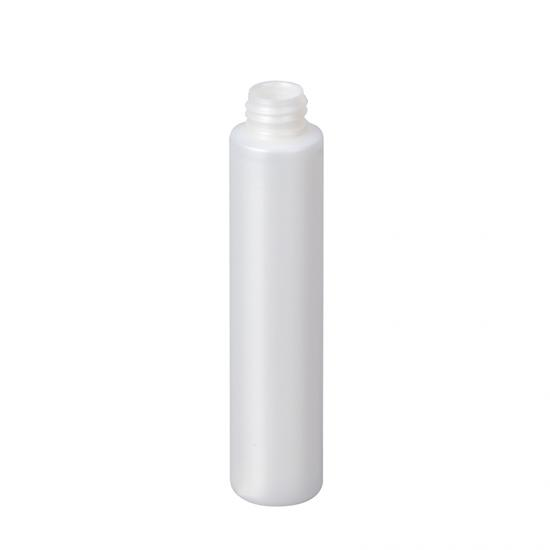 White Plastic PET Bullet Round Lotion Bottle