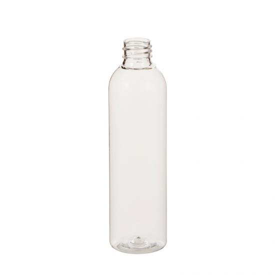 Transparent Cosmo Round PET Lotion Bottle