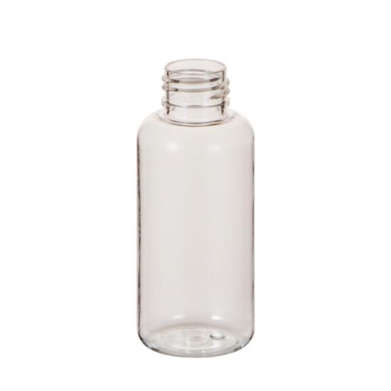 24 410 Transparent PET Plastic Bottle