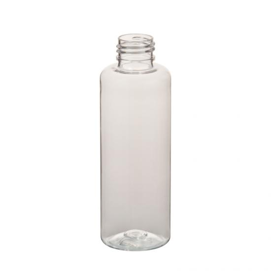 OEM Clear PET Plastic Cosmo Round Cosmetic Bottle manufacturers