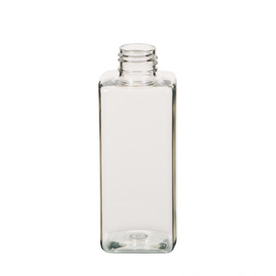 Clear PET Square Lotion Bottle
