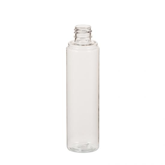 Cylinder Shape PET Shampoo Bottle