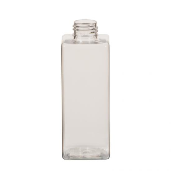 OEM 200 ml Square Shape Bathroom PET Bottle from China manufacturers